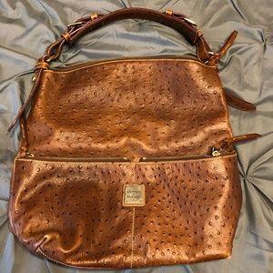 Dooney & Bourke Ostrich Shoulder Bag/Tote